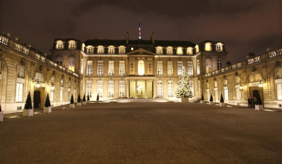 Alcor invited by the French President, Elysee Palace