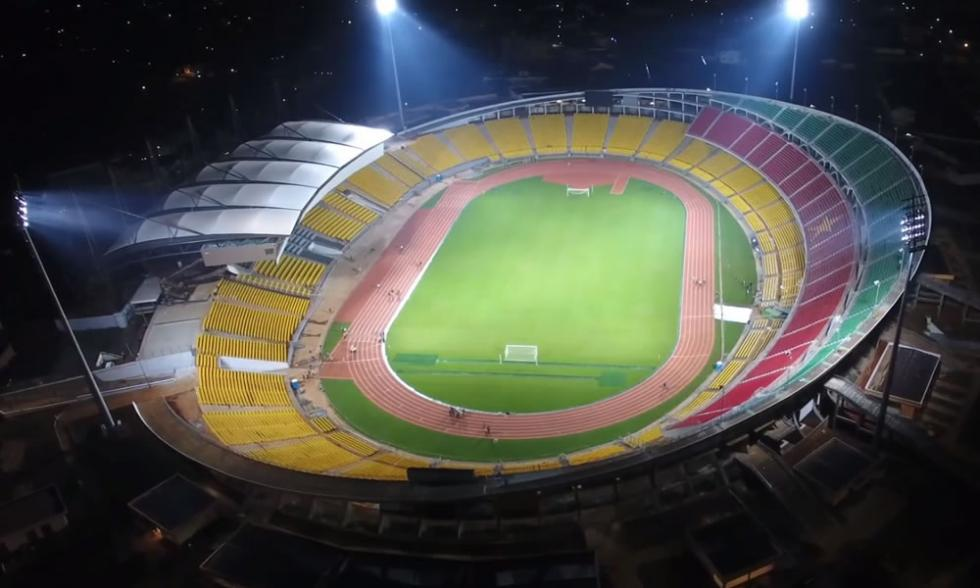 Rénovation et extension du stade de Yaoundé au Cameroun