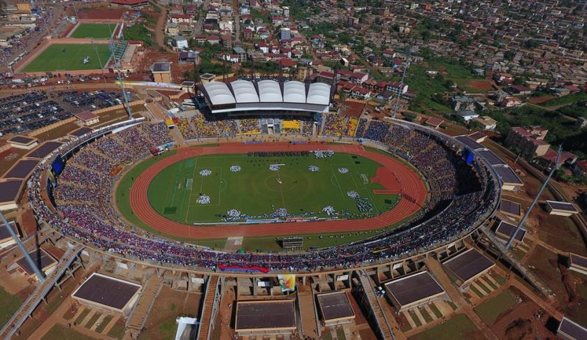 Renovation of the Ahmadou Ahidjo stadium in Yaoundé, Cameroon
